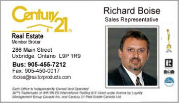 Business Card Styles For Century Real Estate Agents - Century 21 business cards template