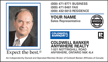 Business card styles for coldwell banker real estate agents template 1001 coldwell banker 1001 reheart Choice Image