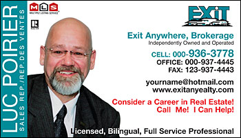 Business card styles for exit realty real estate agents exit realty 1003 exit realty 1003 colourmoves Image collections